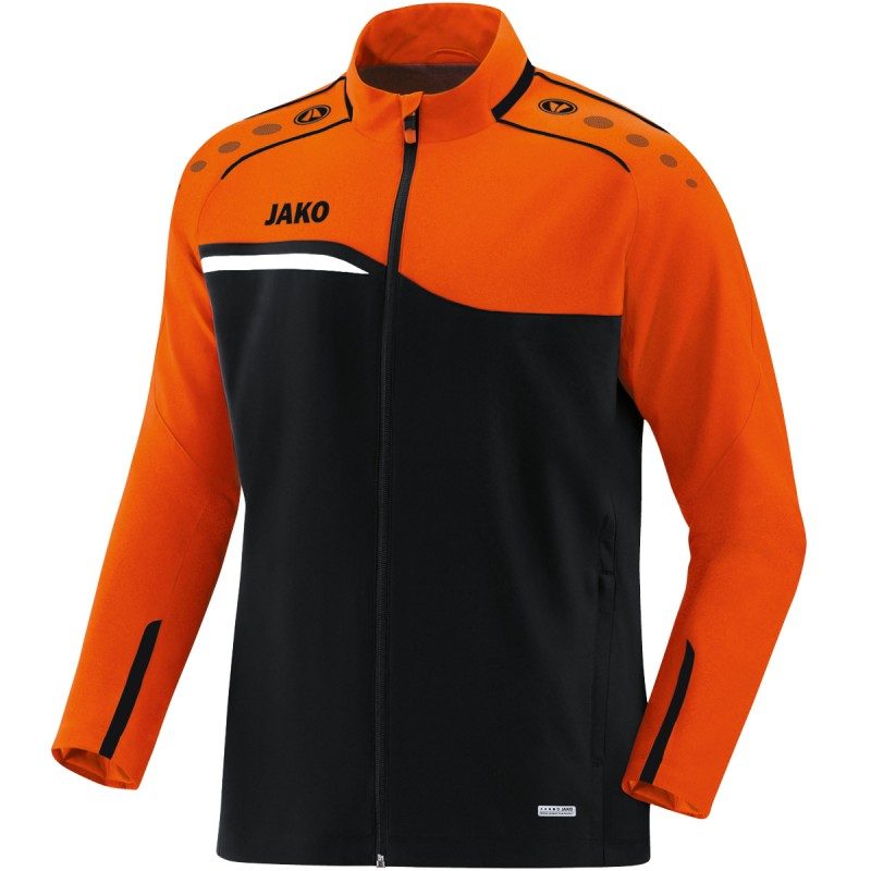 black/neon orange