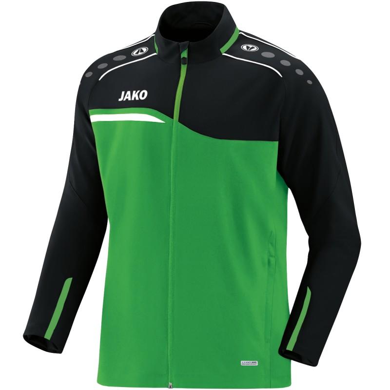 soft green/black