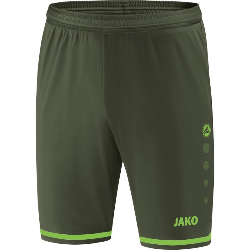 khaki/neon green